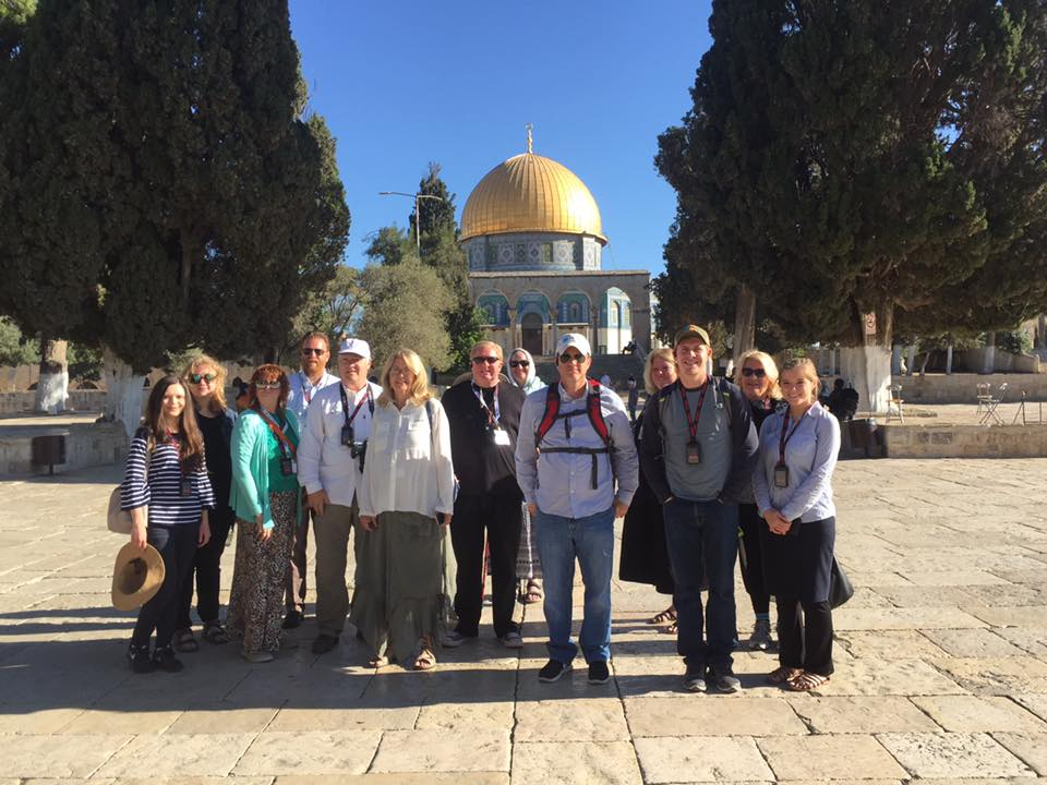 ONE FOR ISRAEL, Israel tour, Temple Mount