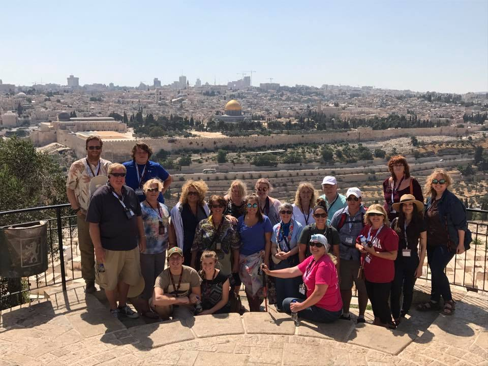 ONE FOR ISRAEL, Israel trip, Jerusalem, Mt. of Olives