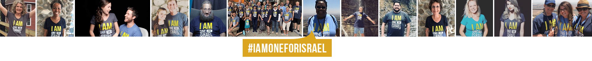 We are ONE for Israel!