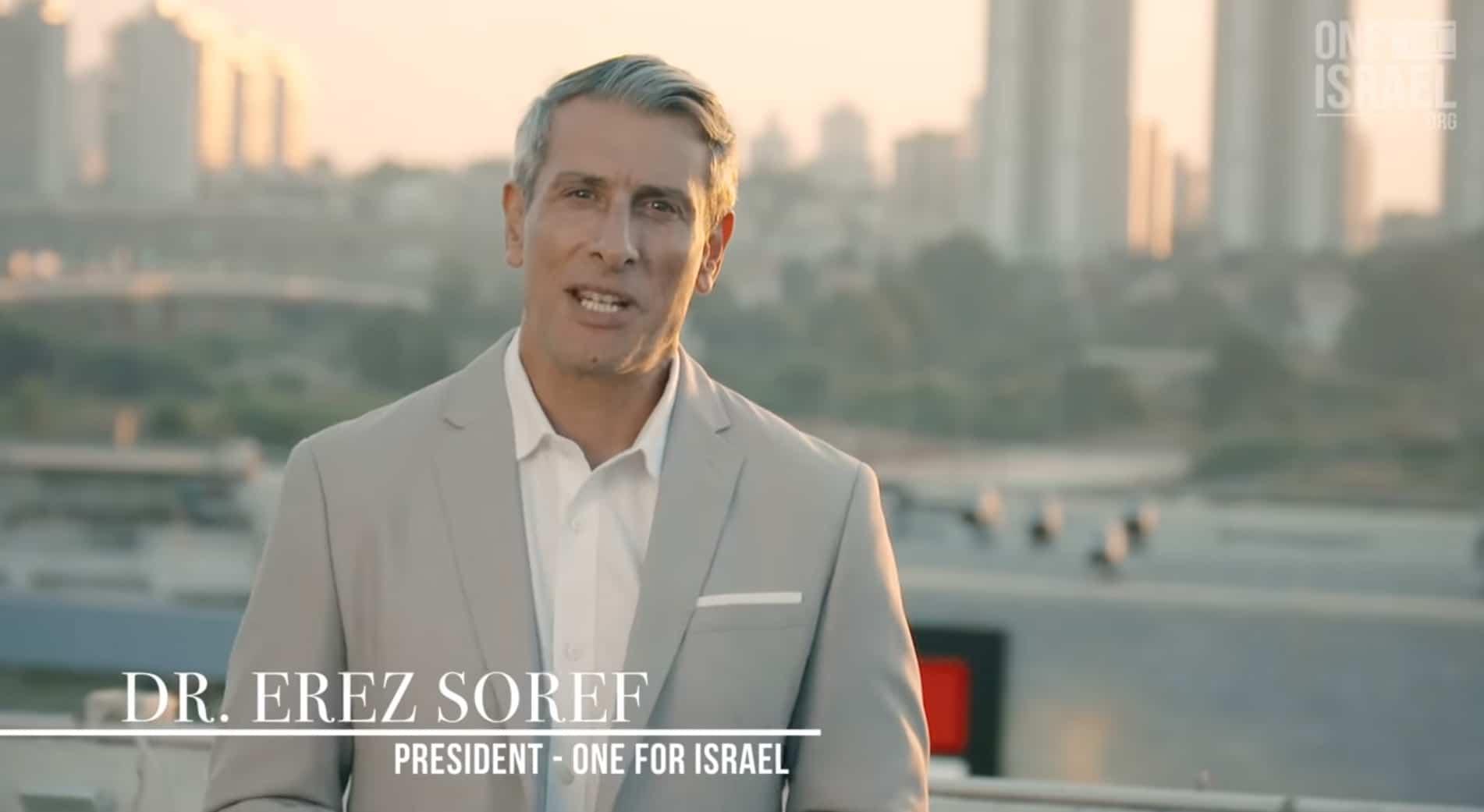 Erez Soref, President One For Israel